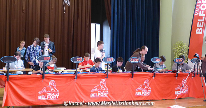 championnat rubik's cube france belfort 2014