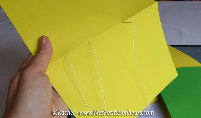 Comment coudre des pages entre elles - Fabriquer un carnet ...