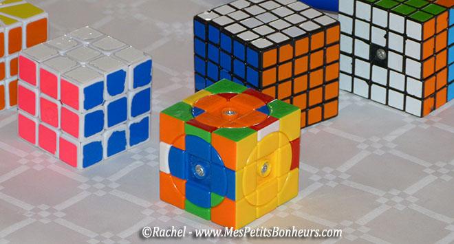 rubik's cube avec cercles