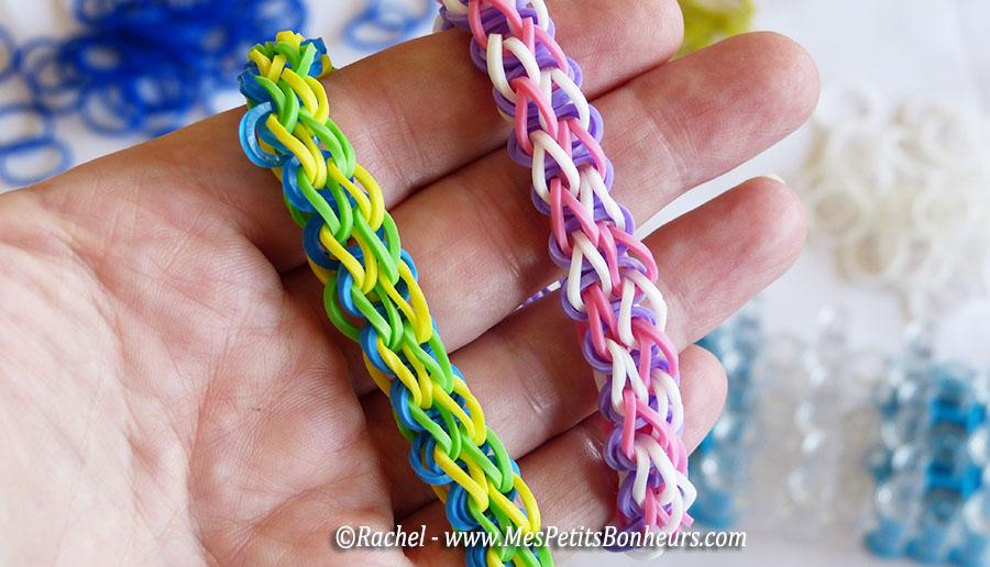 Bracelet elastique forme animaux - Comment faire bracelet elastique ...