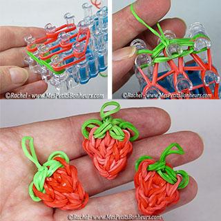 fraise en élastiques