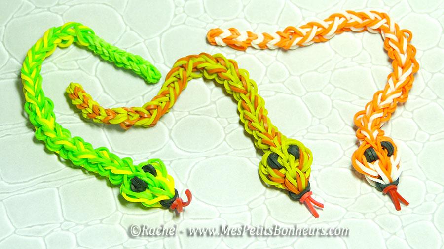 Видео плетение змейки из резинок