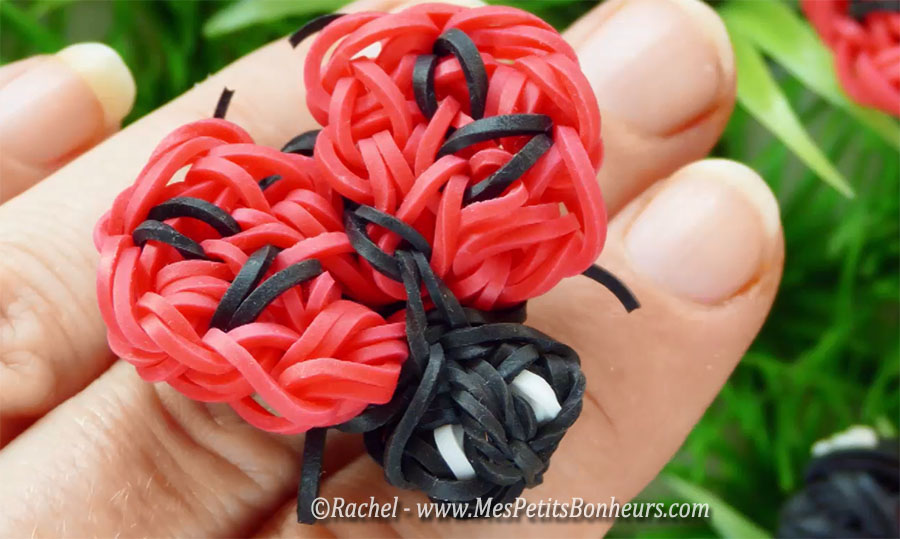 loom coccinelle lady bug elastiques