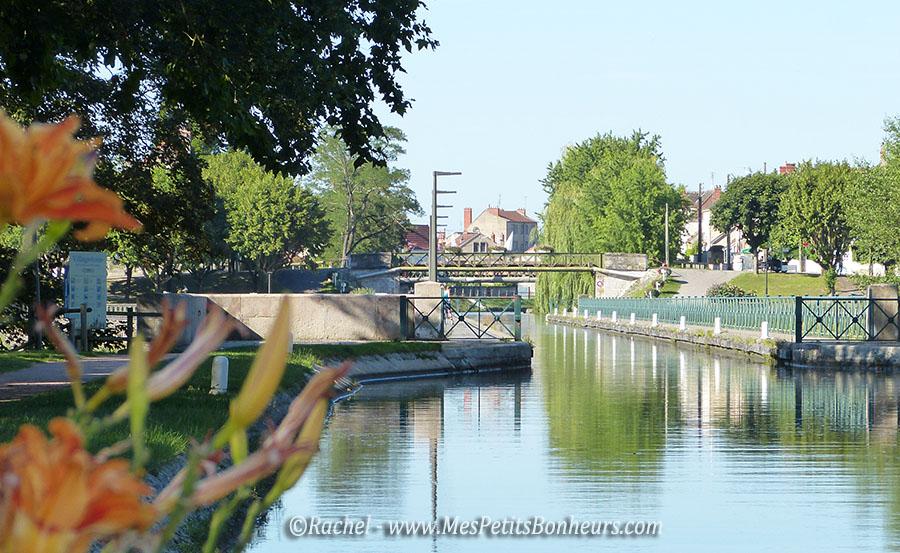 pont canal digoin depuis l'écluse