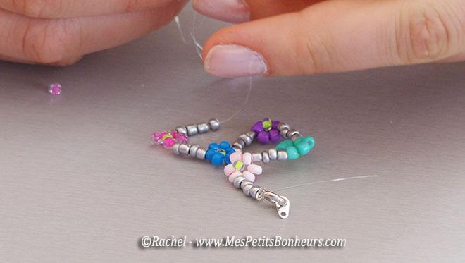 Gut bekannt Bracelets en perles de rocaille, pour changer des élastiques JJ04