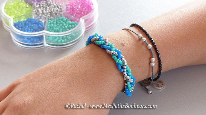 faire un bracelet de perle