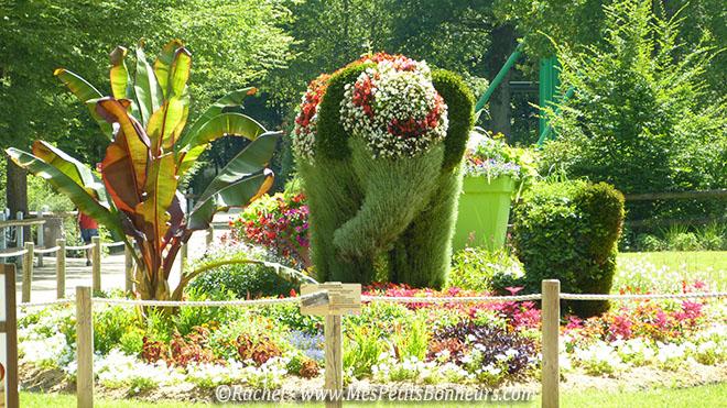 massuf elephant fleuri le Pal