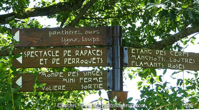 panneaux espaces animalier