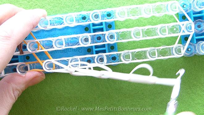 Bonhomme de neige en élastiques - Tuto d'après Prévert.Image fixe016