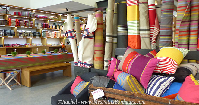 linge basque visite de l 39 atelier de tissage lartigue 1910. Black Bedroom Furniture Sets. Home Design Ideas