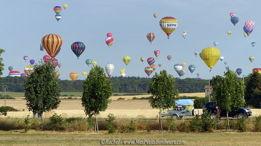 montgolfieres parties vers le nord