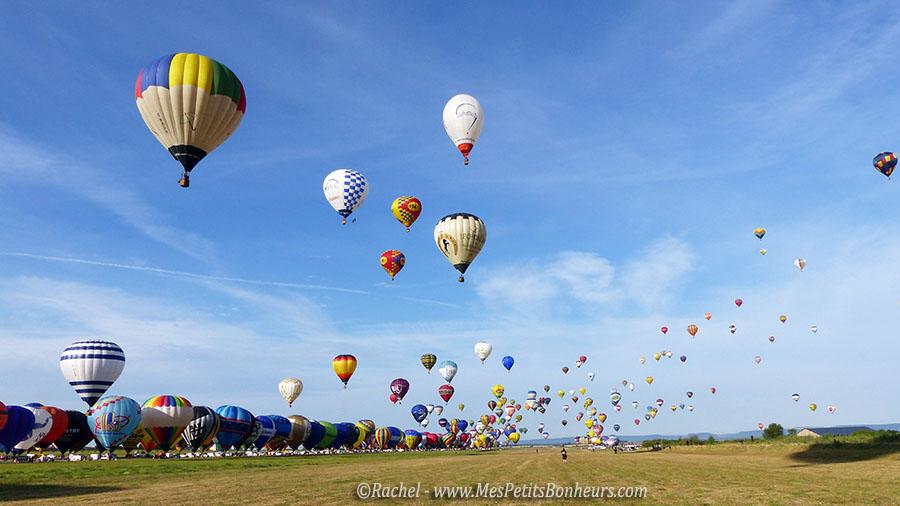 record du monde decollage ligne montgolfières chambley 2015