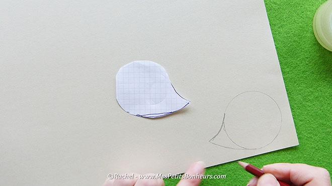 Bricolage herisson recup pour l'automne.Image fixe003
