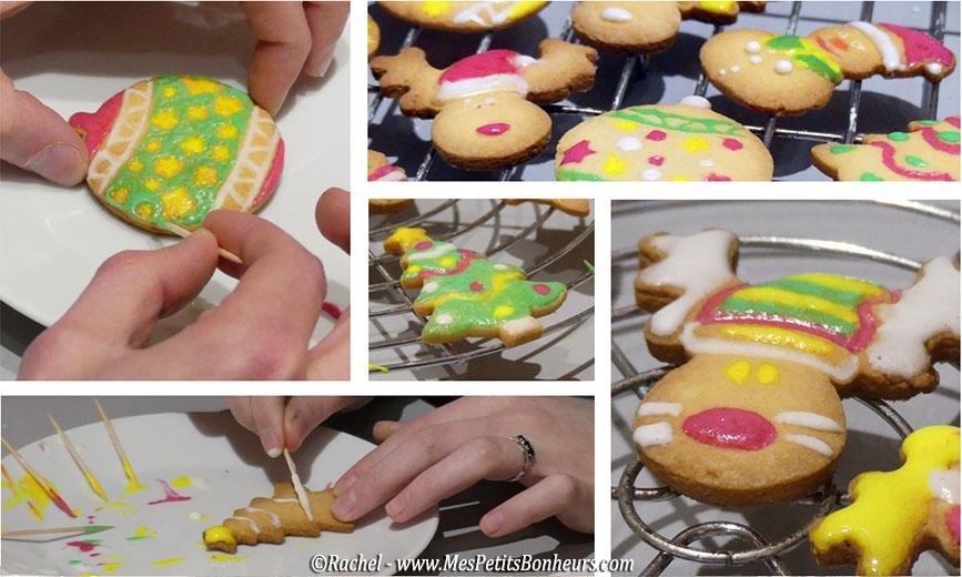sablés de noel biscuits decor sucre glace
