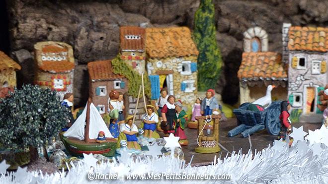 santons village