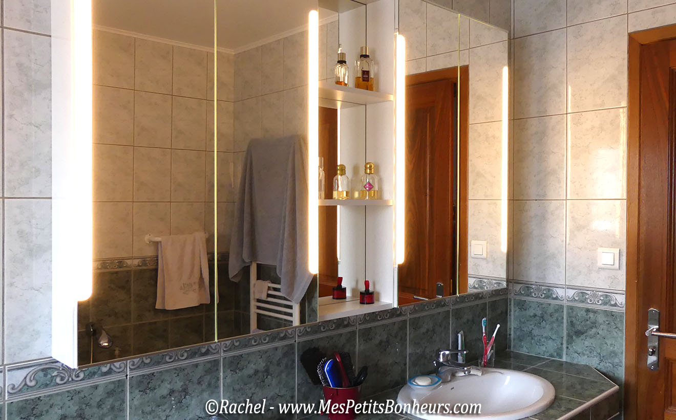 armoire de toilette en bois simple good meubles salle de. Black Bedroom Furniture Sets. Home Design Ideas