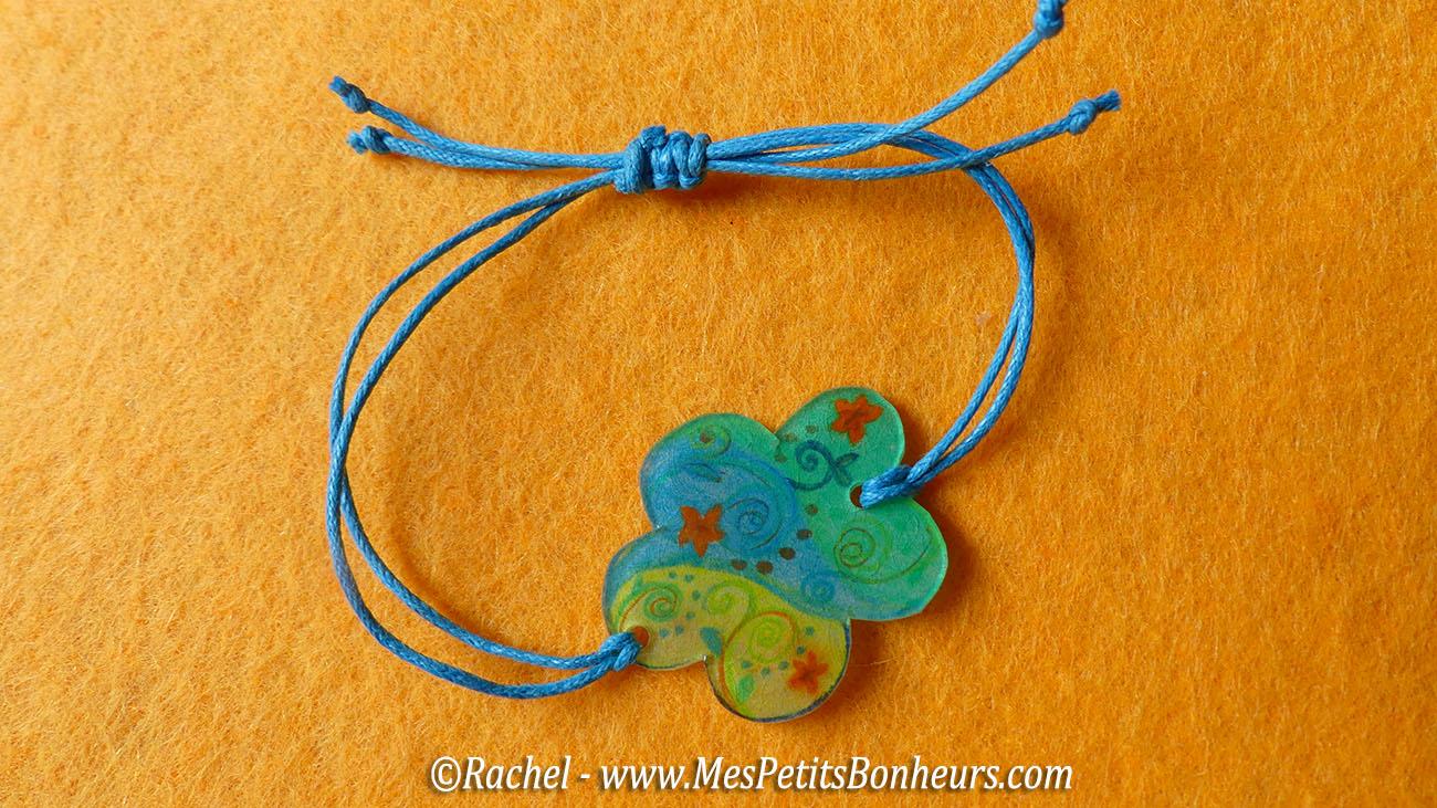 bracelet plastique fou et fil