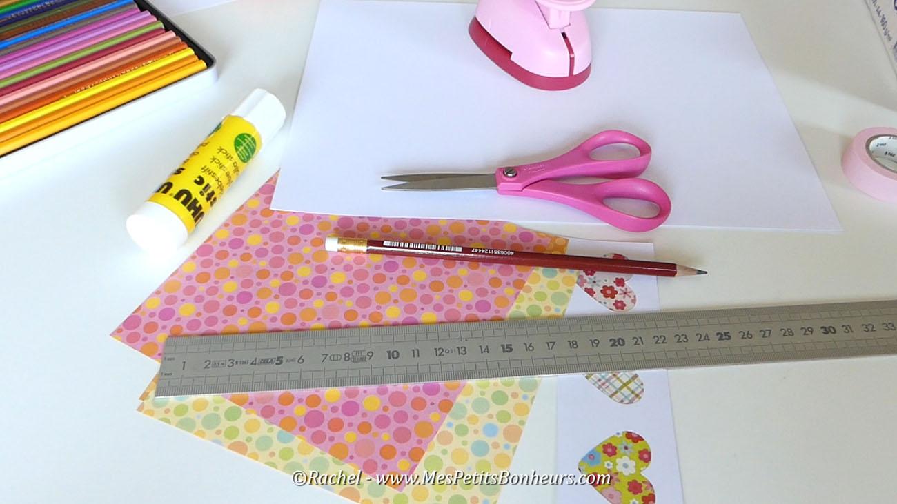 Carte f te des m res rapide et facile sp ciale derni re minute - Bricolage facile a faire en papier ...
