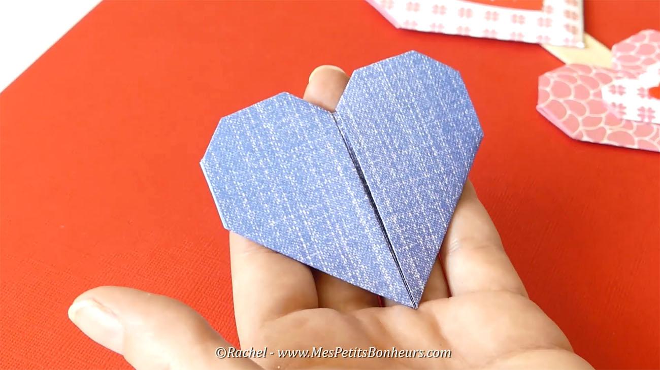 coeur origami heart