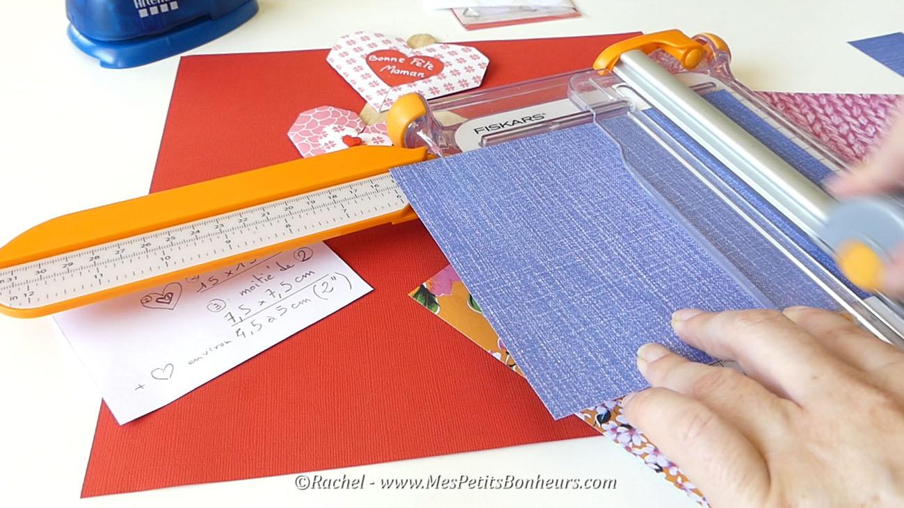 decoupe papier origami pour coeurs