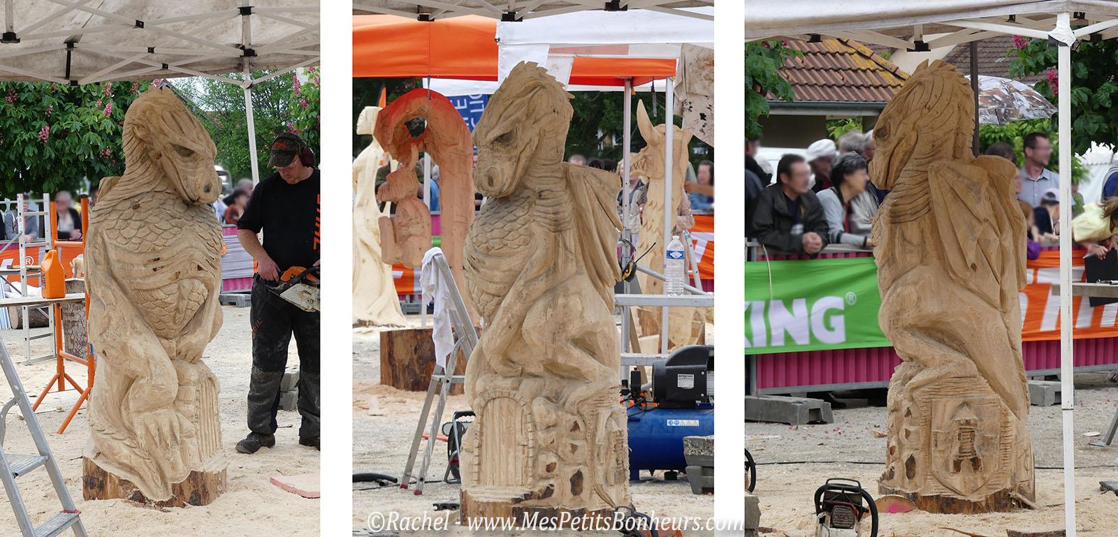 Sculpture sur boisà la tronçonneuse u2026 Une compétition impressionnante # Sculpture En Bois Facile