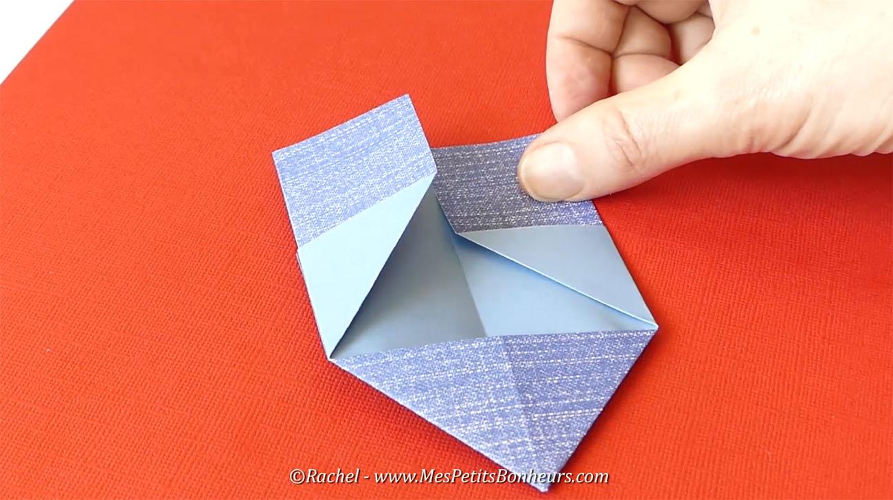 pliage coeur origami