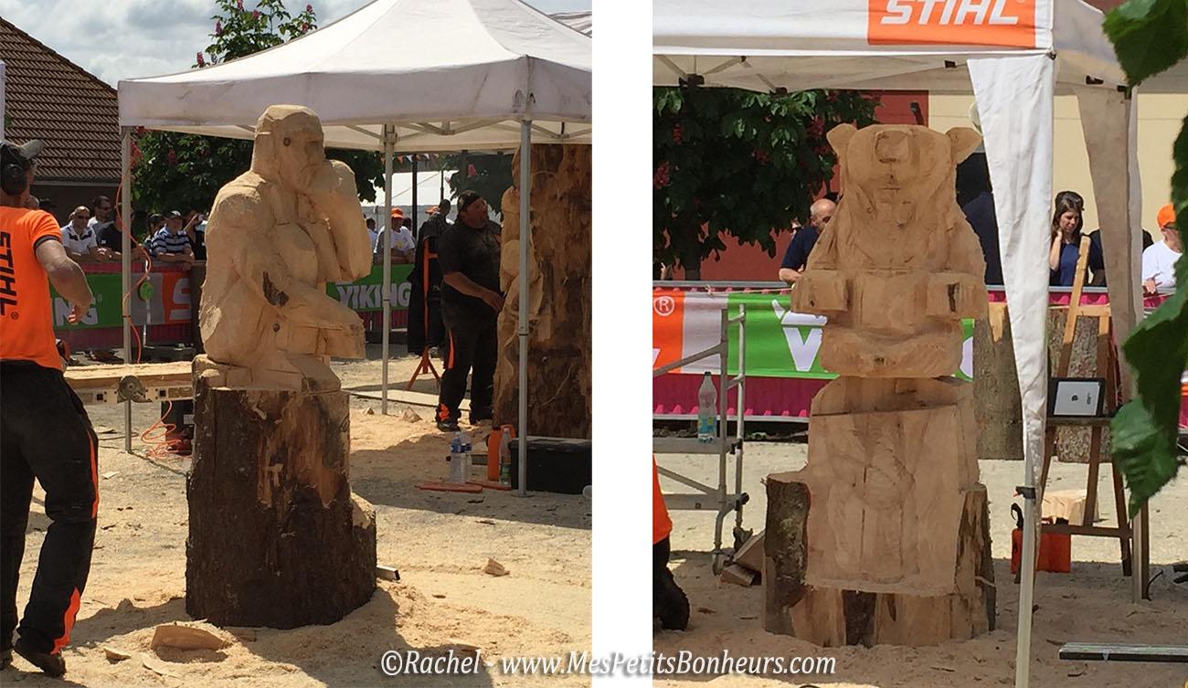 sculptures tronçonneuse grandvillars 2016