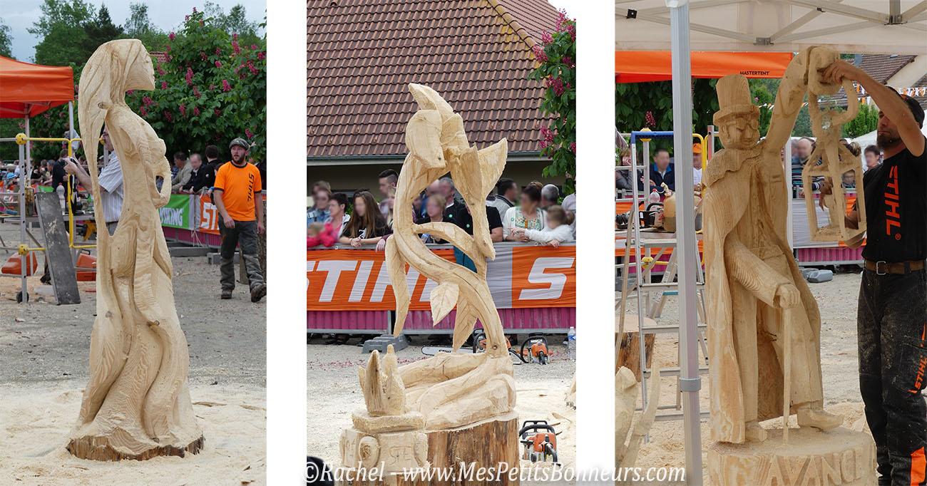 sculptures tronconneuse championnat france 2016