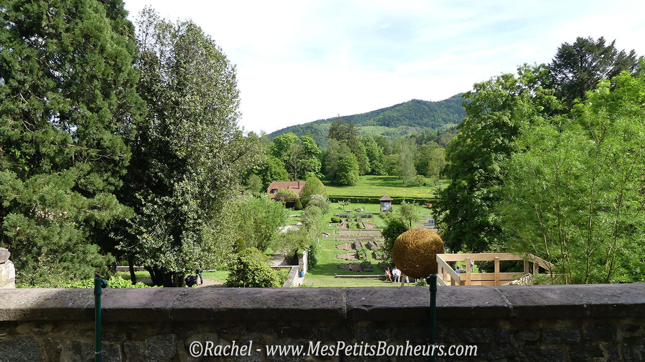 Balade aux jardins du parc de wesserling sud alsace - Restaurant terrasse jardin grenoble mulhouse ...