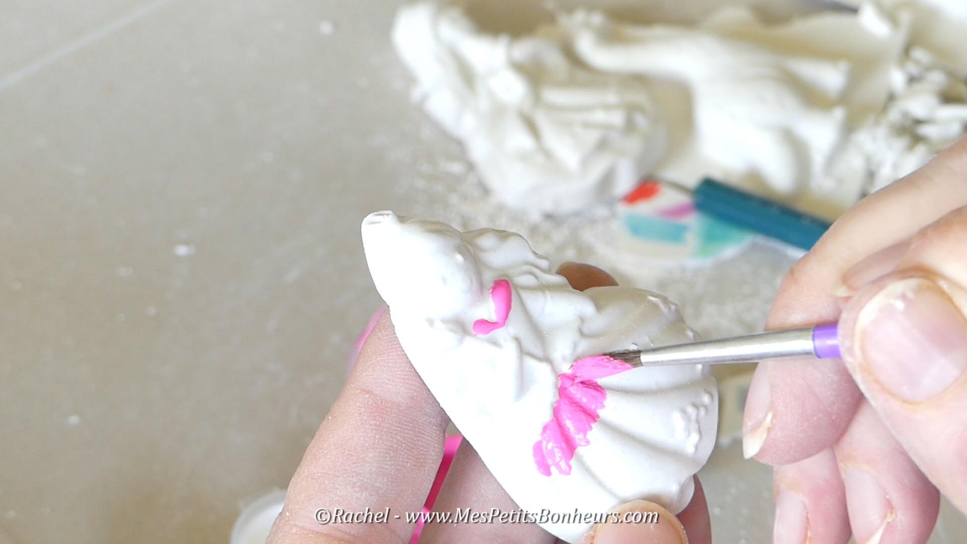 Peinture Moulage Platre Princesse Belles Idees