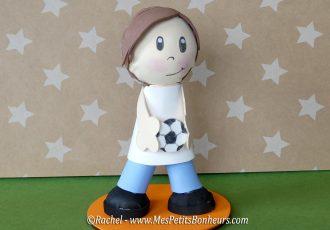 poupée fofucha garçon footballeur activité manuelle ado adulte