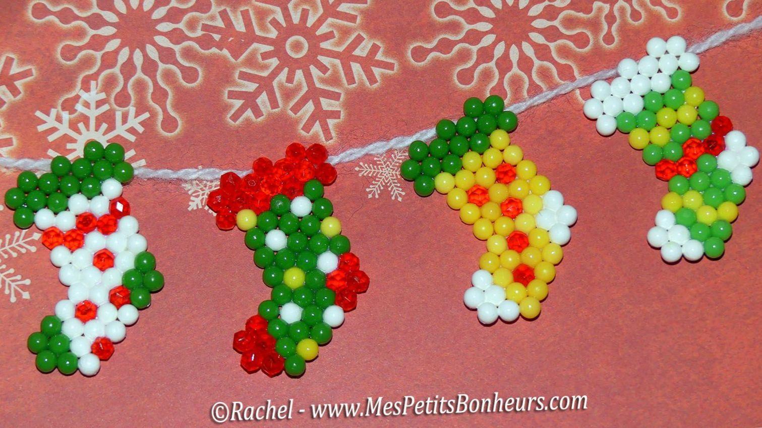 Decorations De Noel En Perles A Souder