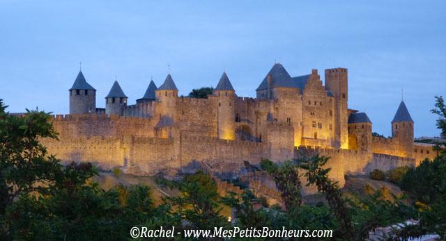 Château de Carcassonne vu du vieux pont
