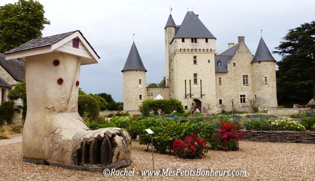 Château du Riveau et jardins de contes de fées