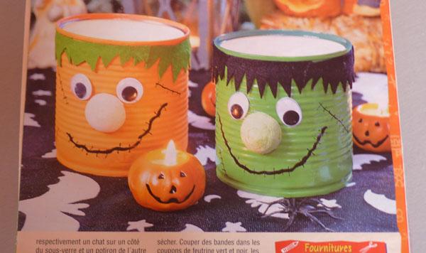 Halloween boites monstres pour mettre les bonbons bricolage facile for Combricolage facile a realiser