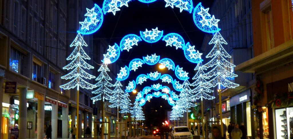 March de no l mulhouse illuminations et toffes - Marche de noel mulhouse 2016 ...
