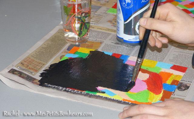 Idée Bricolage – Carte À Gratter Couleur: Oiseau Imaginaire