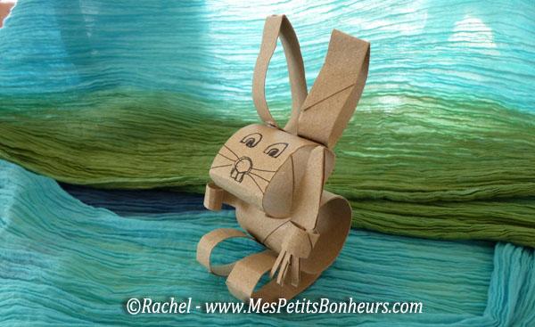 Bricolage avec des rouleaux de papier toilette lapin et papillon - Papillon avec rouleau de papier toilette ...