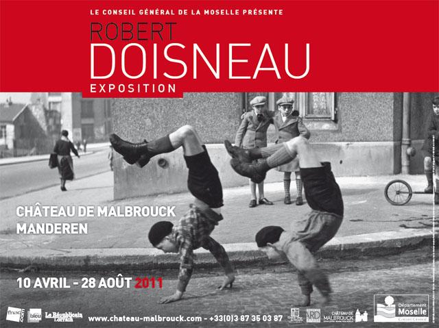 affiche expo doisneau manderen malbrough 2011