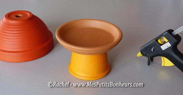 Activité déco avec des minis pots de fleurs : épouvantail et ...