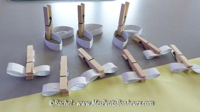 Bricolage De Flocon Avec Des Rouleaux De Papier Wc Ou Essuie Tout