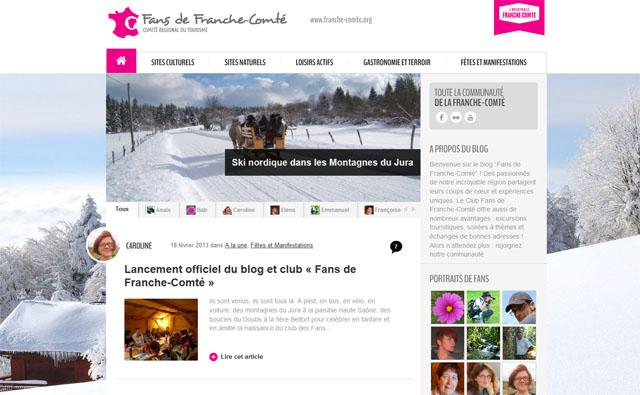 blog fans de Franche Comté