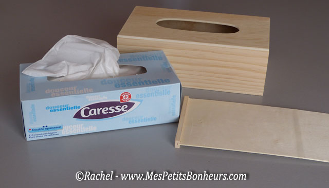 Boite de mouchoirs d co aux couleurs de no l faire soi m me for Decorer une boite a mouchoirs en bois