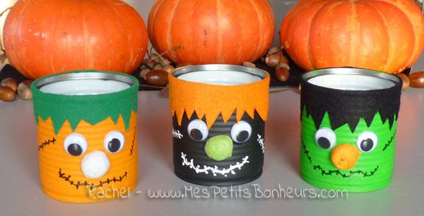 Halloween boites monstres pour mettre les bonbons bricolage facile - Bricolage pour halloween ...