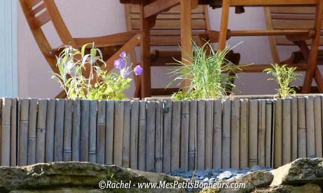 ma bordure de terrasse fa on jardin japonais ou jardin zen. Black Bedroom Furniture Sets. Home Design Ideas