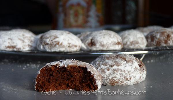 Recette: Boules au chocolat - Des petits gâteaux qui partent à vue d ...