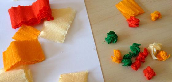 boulettes de crépon froissé