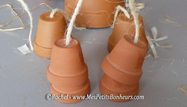 Bonhommes en pots de fleurs bricolage pour d co de jardin vivante et gaie - Comment faire des personnages en pots de terre cuite ...