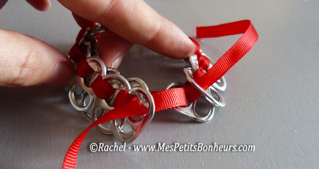 Bracelet en tirettes de canettes de soda bricolage pour - Bricolage avec recuperation ...