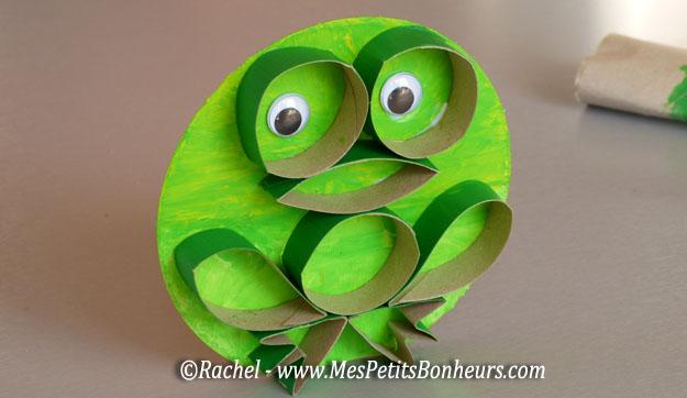 Bricolage rouleaux de papier mes petits bonheurs - Bricolage facile avec du papier ...